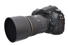 照片照相机- DSLR 库存照片