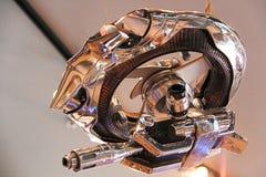 照片猎人凶手微型从终止者3D 库存照片