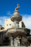 """照片的惊人的喷泉""""Centaur†关闭 西西里岛 意大利 图库摄影"""