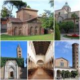 照片的汇集从拉韦纳,意大利的 库存图片