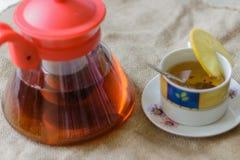 照片茶 免版税库存照片