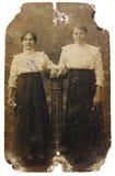 照片葡萄酒妇女 库存照片