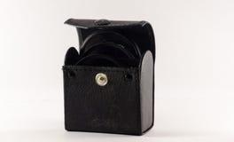 照片过滤器的盒 免版税库存照片