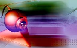 照相机万维网 库存例证