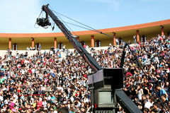 照相机三角帆记录 免版税库存照片