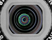 照相机作用eps10例证透镜彩虹向量 背景欧洲榛树榛子宏指令螺母 免版税库存图片