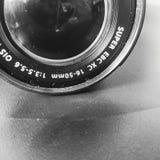 照相机作用eps10例证透镜彩虹向量 免版税图库摄影