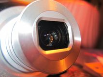 照相机作用eps10例证透镜彩虹向量 图库摄影