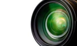 照相机作用eps10例证透镜彩虹向量 库存图片