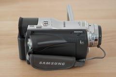 照相机例证可实现的向量录影 免版税库存图片