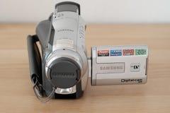 照相机例证可实现的向量录影 库存照片