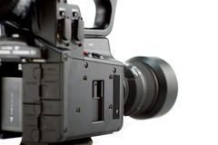 照相机侧视图 免版税库存图片
