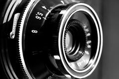 照相机减速火箭的反光镜 免版税库存图片