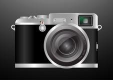 照相机减速火箭的样式传染媒介 免版税库存照片