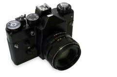 照相机减速火箭的slr 免版税库存照片