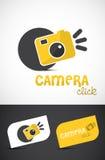 照相机创造性的徽标 免版税库存图片