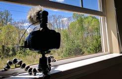 照相机和准备 免版税库存图片