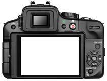 照相机回到屏幕 免版税库存照片