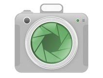 照相机图标 库存照片