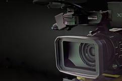 照相机在电视演播室 免版税库存图片