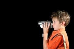 照相机家庭录影 免版税库存照片
