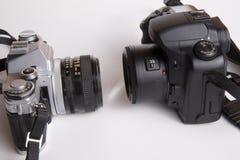 照相机对峙 库存图片