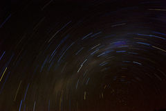 照相机导致了地球风险长的移动循环s星形线索 免版税库存图片
