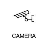 照相机平的象 库存图片