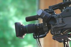 照相机录影 图库摄影