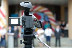 照相机录影 免版税库存图片