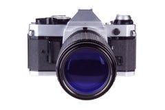 照相机影片减速火箭的superzoom 免版税库存照片