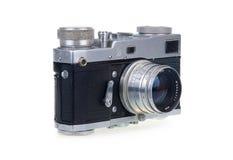 照相机影片查出的老白色 免版税库存图片