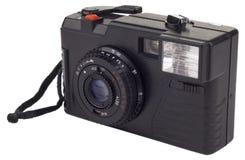 照相机影片查出的老简单的白色 库存图片