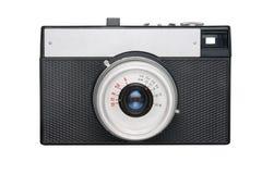 照相机影片查出简单的白色 库存图片