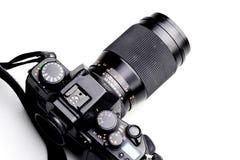 照相机影片slr 免版税图库摄影