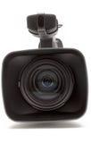 照相机接近的数字式前视频视图 免版税库存照片