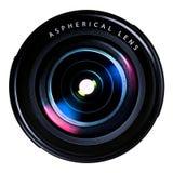 照相机接近的深度向场透镜照片浅非常 免版税库存图片