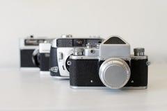 照相机摄制老 免版税库存照片