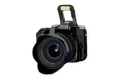 照相机数字式专业人员 库存例证