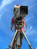 照相机数字式专业工作室电视录影 库存照片
