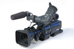 照相机数字式录影 免版税图库摄影