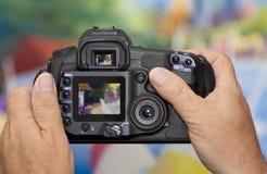 照相机数字式照片采取 免版税库存图片