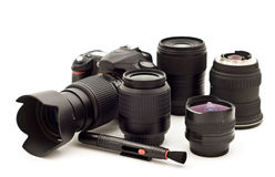 照相机数字式照片 库存照片