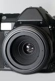 照相机数字式透镜宏指令slr 免版税图库摄影