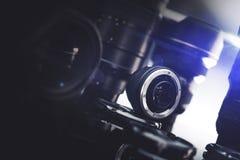 照相机数字式透镜 图库摄影