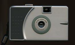 照相机数字式银 免版税库存照片