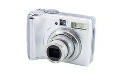 照相机数字式银 库存图片