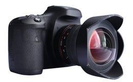 照相机数字式dslr 免版税库存图片