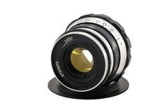 照相机查出的透镜 免版税图库摄影