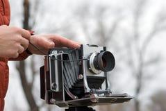 照相机格式大老 库存照片